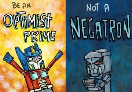 Optimist Prime vs negatron