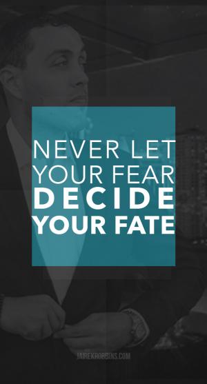 FEAR FATE quote